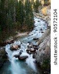 Athabasca River Rocky Mountains ...