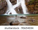 Cameron Falls In Waterton Lakes ...