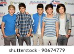 one direction at the jingle... | Shutterstock . vector #90674779