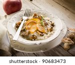 Risotto With Apple And Edible...