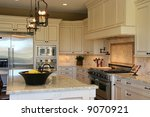 a modern  luxury kitchen. | Shutterstock . vector #9070921