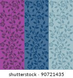 Seamless Floral Pattern. Retro...
