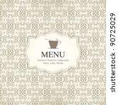 vector. restaurant or coffee...   Shutterstock .eps vector #90725029