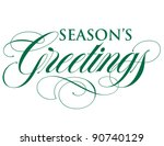 elegant holiday vector... | Shutterstock .eps vector #90740129