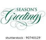 elegant holiday vector... | Shutterstock .eps vector #90740129