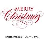 elegant holiday vector... | Shutterstock .eps vector #90740591