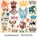 design elements | Shutterstock .eps vector #90741191