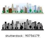 street   building | Shutterstock .eps vector #90756179