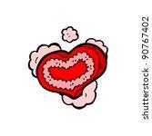 heart design   Shutterstock .eps vector #90767402