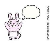 happy easter bunny cartoon