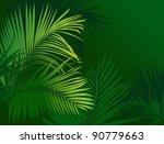 jungle rain forest  tropical...   Shutterstock .eps vector #90779663
