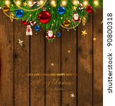 christmas card | Shutterstock .eps vector #90800318