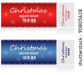 special tickets for christmas...   Shutterstock .eps vector #90805628