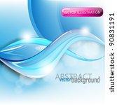 eps10 vector elegant wave... | Shutterstock .eps vector #90831191