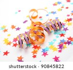confetti and streamer | Shutterstock . vector #90845822