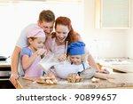 Happy Family Having A Great...