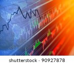 world economics. finance... | Shutterstock . vector #90927878