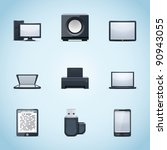 computer icons | Shutterstock .eps vector #90943055