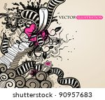 abstract vector illustration in ...