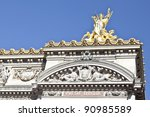 Paris Opera Garnier - stock photo