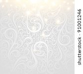 vector winter background | Shutterstock .eps vector #91001246
