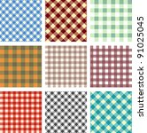 abstract seamless square... | Shutterstock .eps vector #91025045