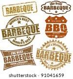 set of grunge rubber stamps ... | Shutterstock .eps vector #91041659
