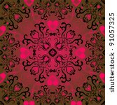 Seamless Valentine Pattern Wit...