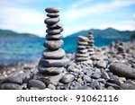 Pebbles Tower Zen And Balance