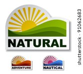 Vector Natural Adventure...