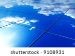 abstract solar panel surface | Shutterstock . vector #9108931