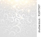 vector winter background | Shutterstock .eps vector #91097507