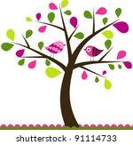 Valentines Tree Background ...