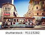 san francisco   july 22 ... | Shutterstock . vector #91115282