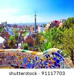 barcelona  spain   july 25  the ... | Shutterstock . vector #91117703