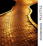 golden path leading to success | Shutterstock . vector #91117712
