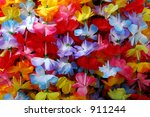 Colorful Flower Leis
