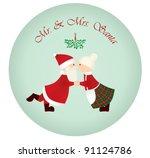 Mr   Mrs Santa Under The...