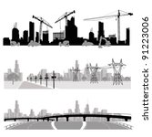 vector illustration.city... | Shutterstock .eps vector #91223006