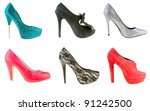 Collection Of Woman High Heels...