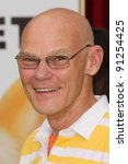 """Small photo of James Carville at """"The Muppets"""" World Premiere, El Capitan Theater, Hollywood, CA 11-12-11"""