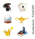 magic set  10eps | Shutterstock .eps vector #91262387