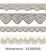 ribbon   vintage engraved... | Shutterstock .eps vector #91283030