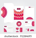 bright abstract vector... | Shutterstock .eps vector #91284695