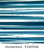 grunge blue and white stripes... | Shutterstock .eps vector #91305566