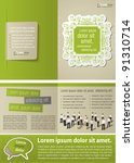 Green Vintage Template For...