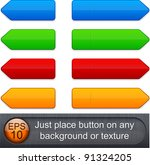 blank web buttons for website... | Shutterstock .eps vector #91324205