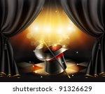 magic tricks  vector background   Shutterstock .eps vector #91326629