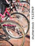 bicycle wheels | Shutterstock . vector #9133969