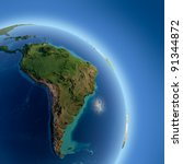 A Fragment Of The Earth With...